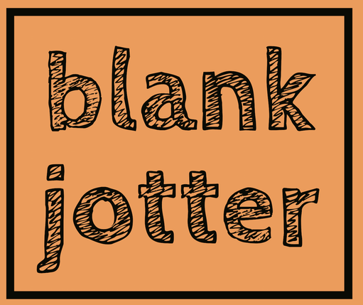 Blank Jotter Homepage